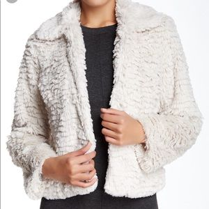 Fever Faux Fur Jacket Size Small
